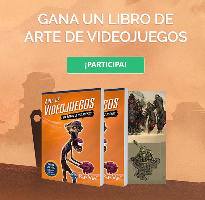 Concurso libro de Arte de Videojuegos