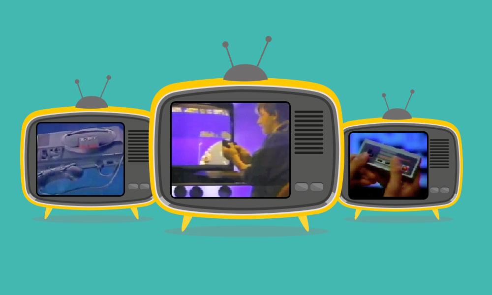 Historia de los anuncios de videojuegos en TV