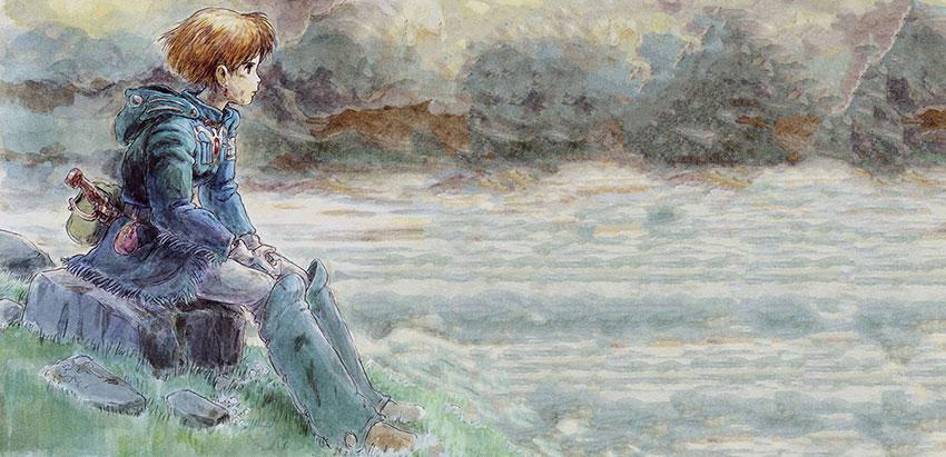 Manga Nausicaä del Valle del Viento de Hayao Miyazaki