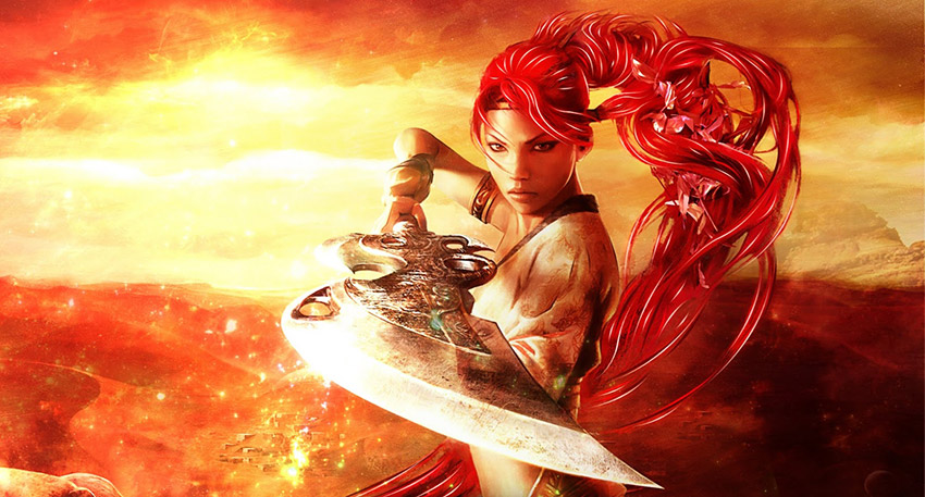 Nariko de Heavenly Sword