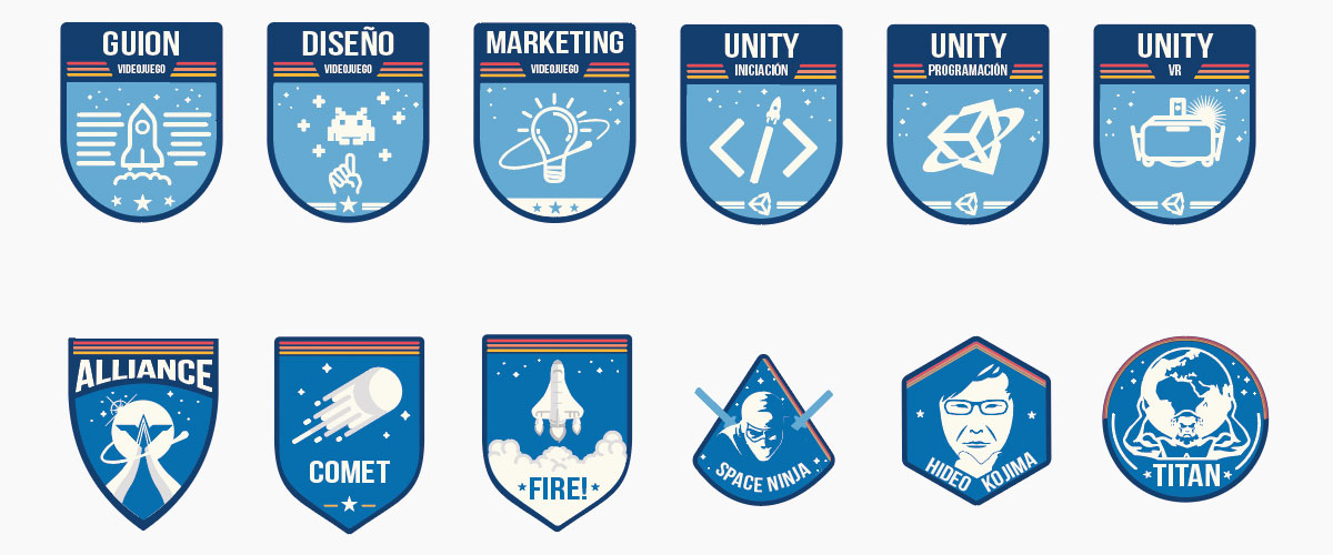 Insignias del Campus Virtual