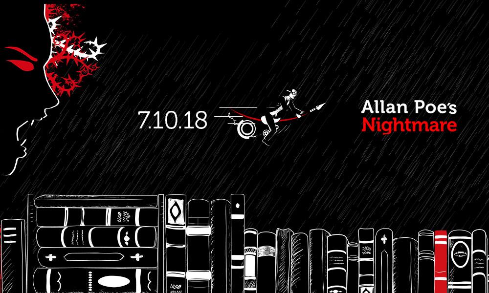 Allan Poe´s Nightmare estará disponible el 7 de Octubre.