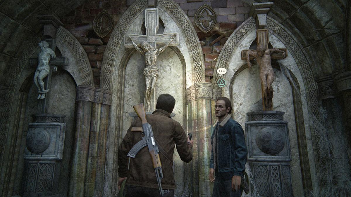 Uncharted 4 guion de videojuego