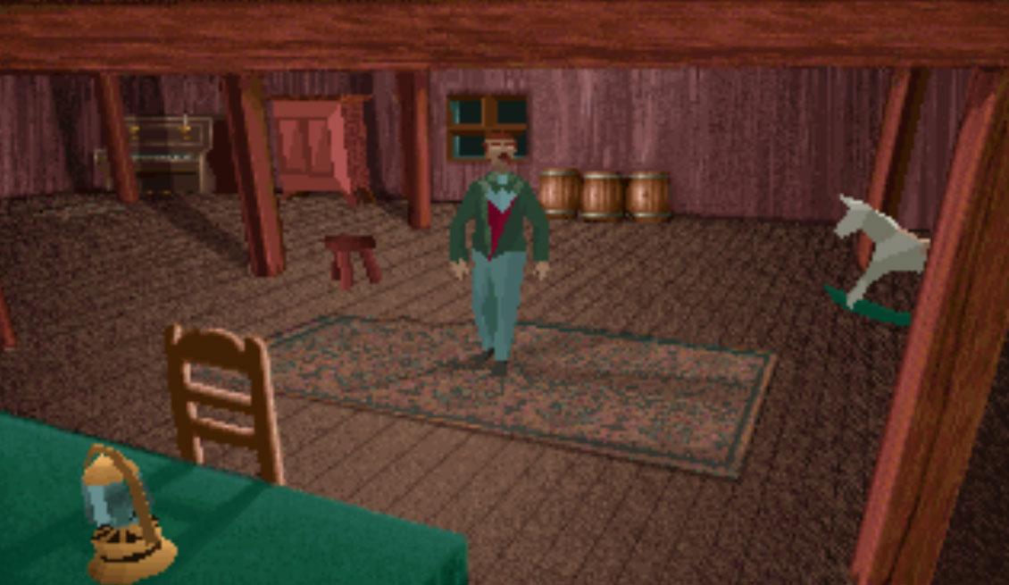 Alone in the Dark como ejemplo de uno de los primeros videojuegos basados en Lovecraft.