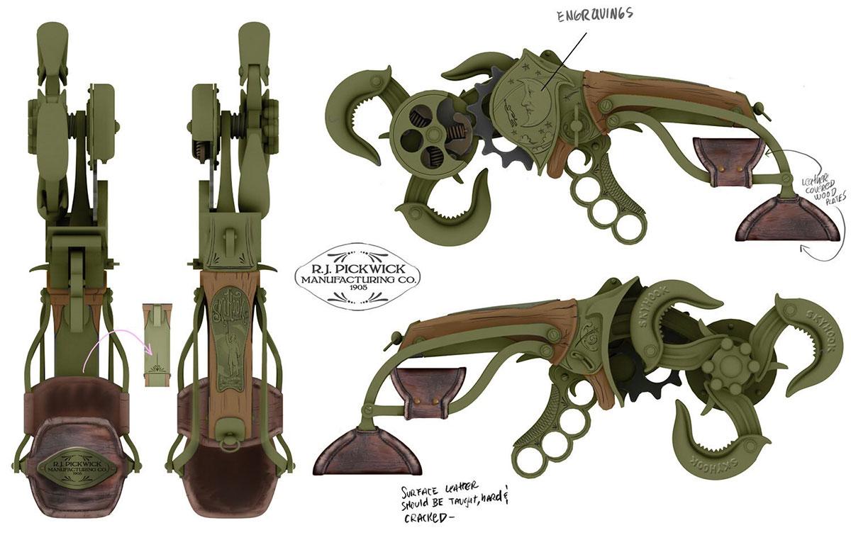 concept art Sky-Hood de Bioshock Infinite