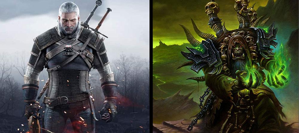 Diferencias entre los brujos de The Witcher con los de World of Warcraft