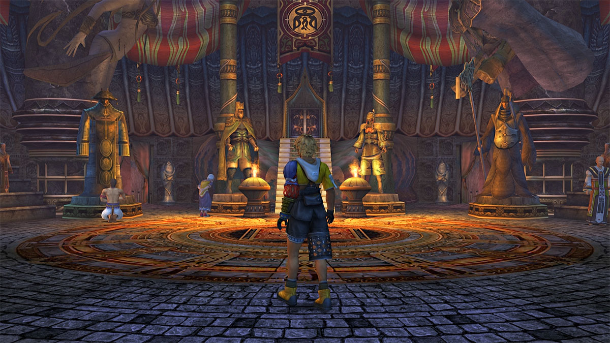 Templo de Besaid en Final Fantasy X