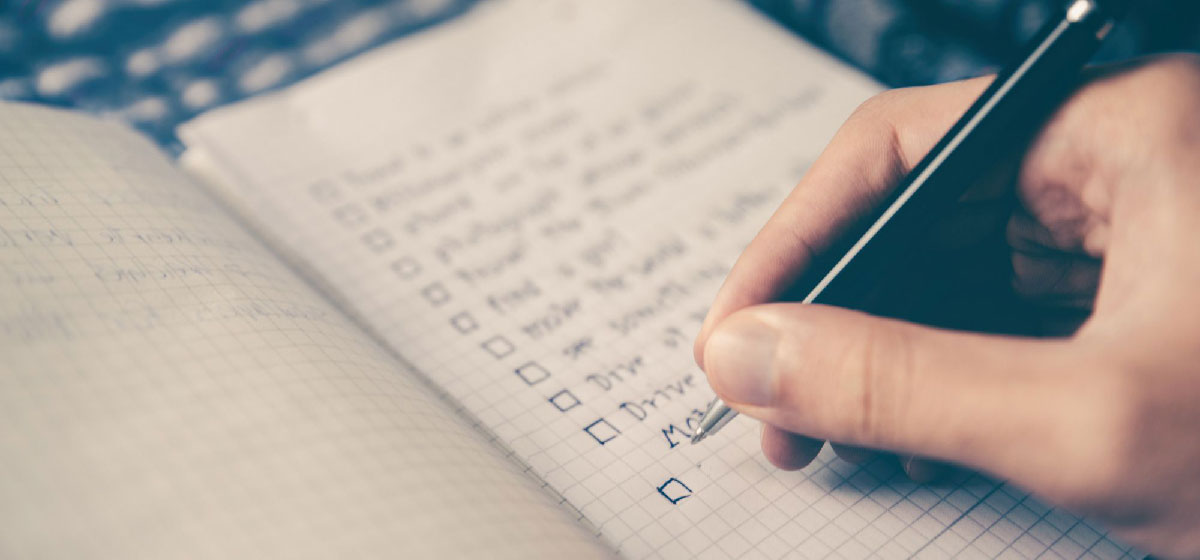 Cómo crear una lista de tareas para organizar el trabajo