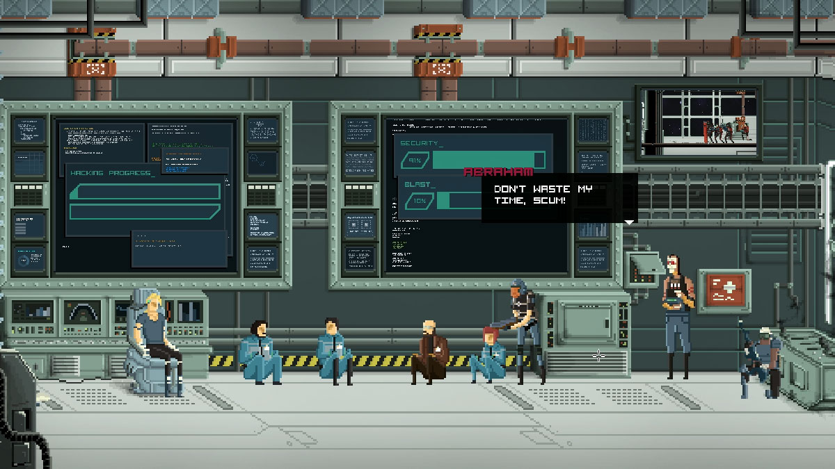 Gods will be watching de Deconstructeam. Idea original creada una game jam