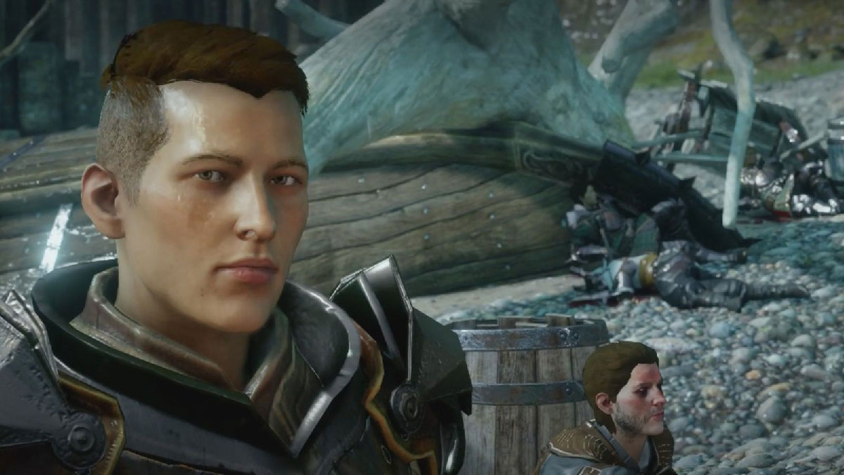En Dragon Age el personaje Krem se identifica como hombre trans.