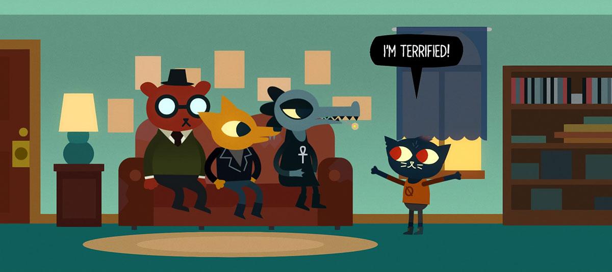 Night in the Woods videojuego que habla sobre la depresión