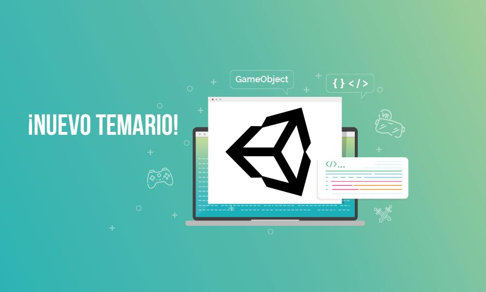 Actualización del curso online de Programación con Unity