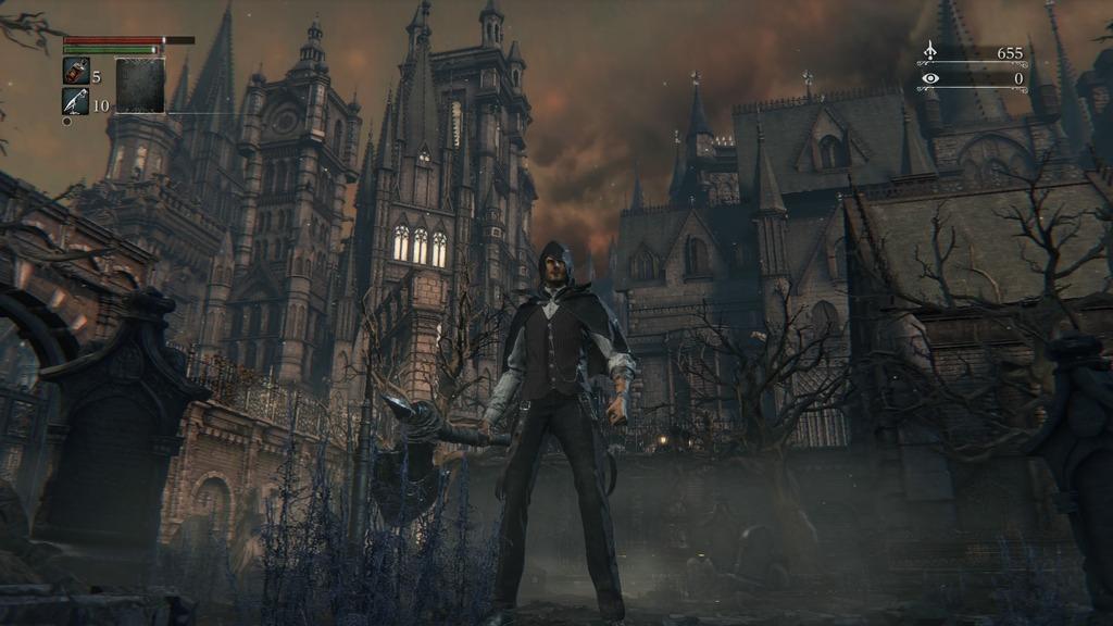 Bloodborne es una mezcla de diferentes estilos arquitectónicos.