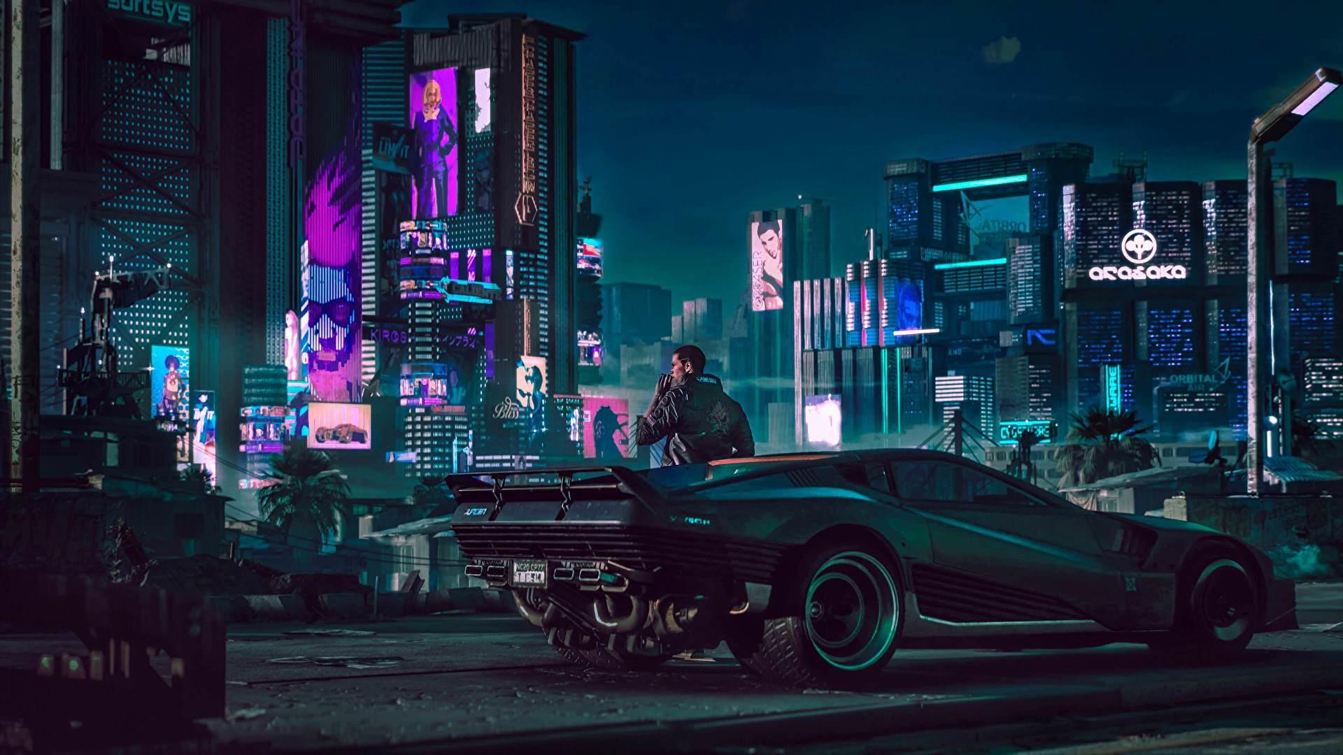 Ejemplo de arquitectura cyberpunk en videojuegos