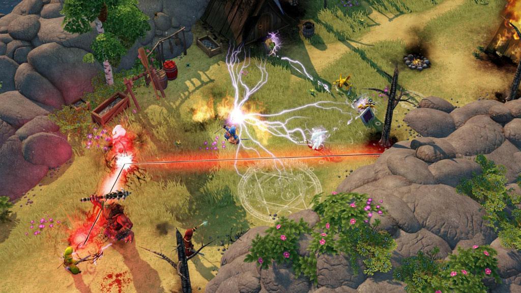 Magicka como ejemplo de diseño de sistema de magia en videojuegos