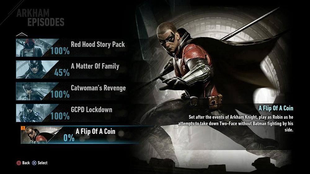 Batman Arkham Knight tiene un excelente diseño de UI