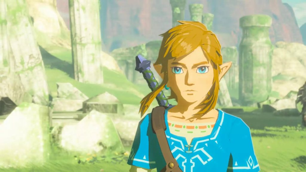 Link, protagonista de The Legend of Zelda: Breath of the Wild