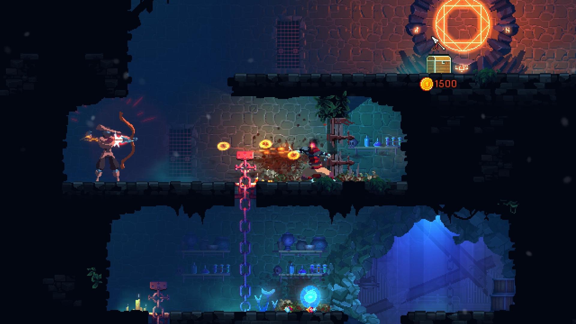 Deadcells videogame pixel art