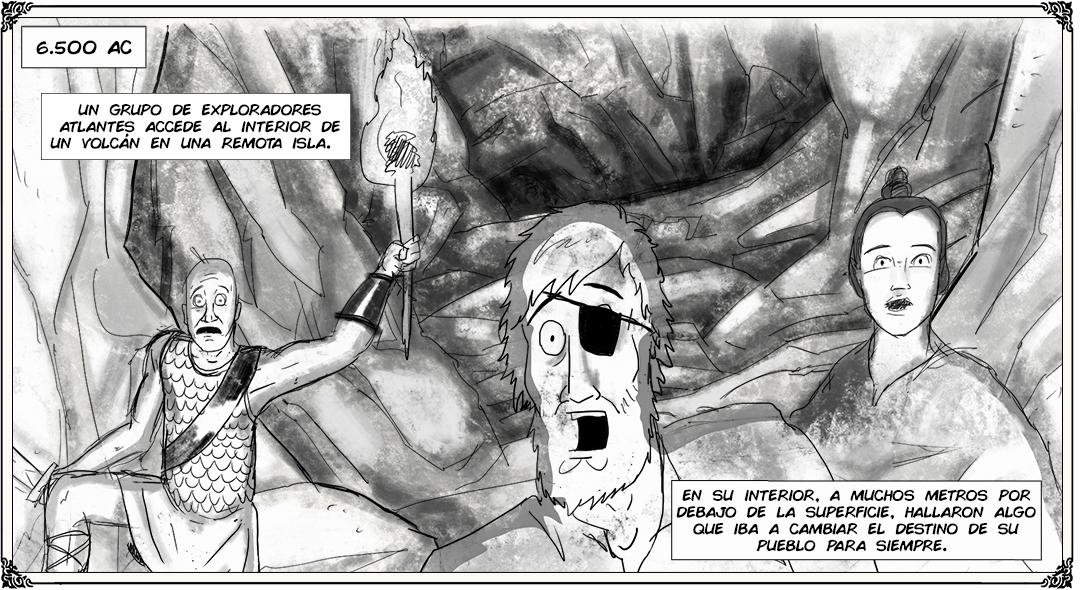 Webcomic sobre el videojuego Verne: The Shape of Fantasy