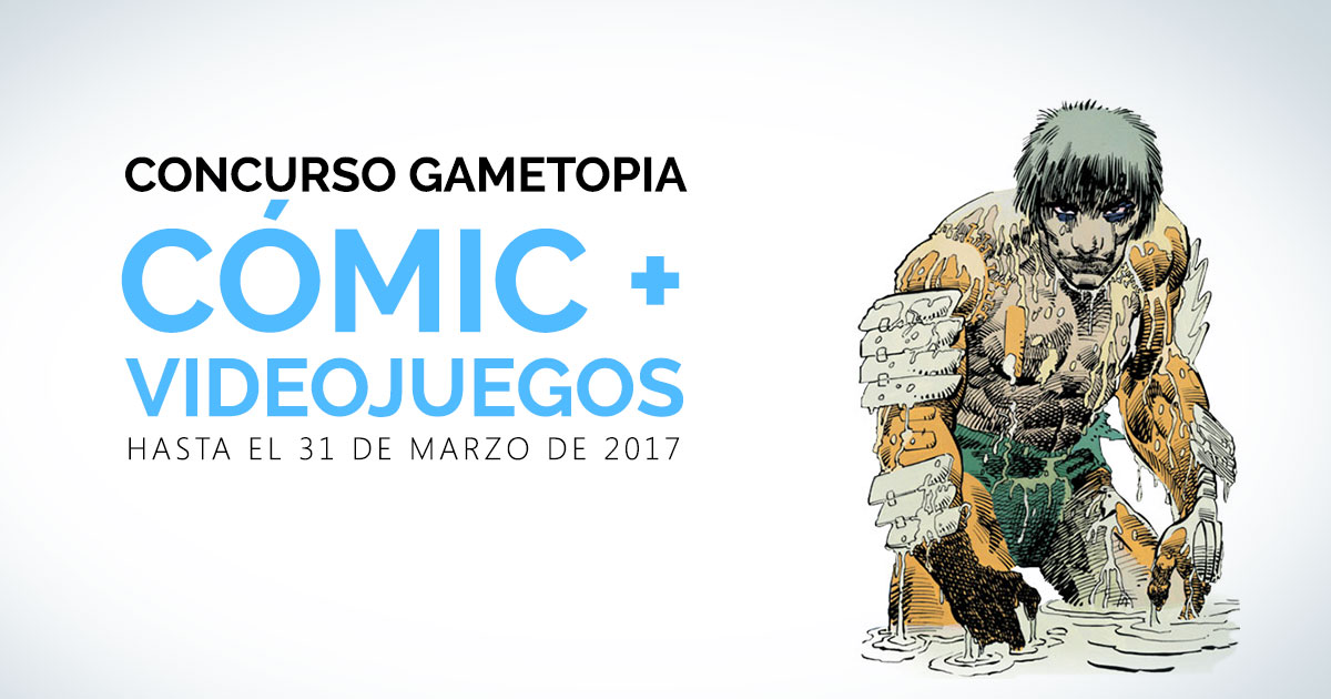 Concurso Cómic + Videojuegos
